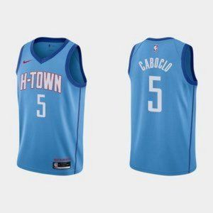 Rockets Bruno Caboclo City Jersey